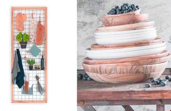 Een keukenrek (gezien bij Kenkshop.nl) om al je buiten-keuken-spullen aan op te hangen (of het lichtsnoer)