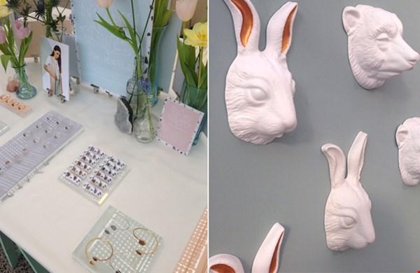 Poederpastels bij Ish Jewels en producten met humor bij Soon Salon