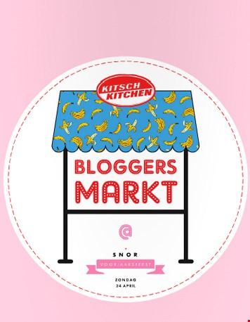 ... en shoppen op de bloggersmarkt!