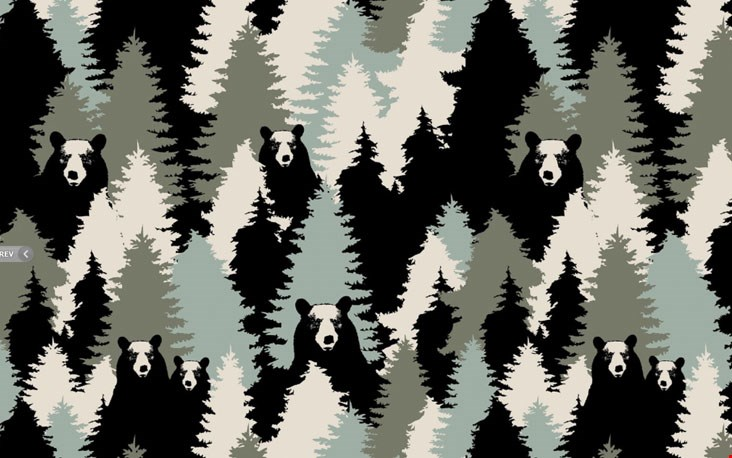Superstoer camouflagestofje