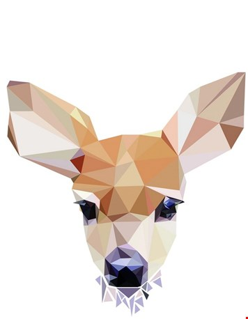 Diamond animals - hertje