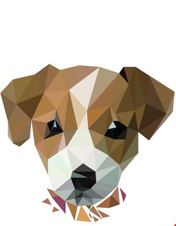 Diamond animals - hond