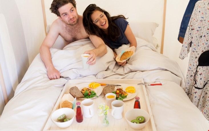 Ontbijt op bed!