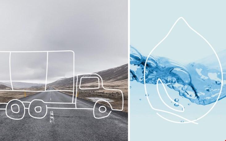 Voor de productie is veel minder transport en water nodig: super duurzaam dus
