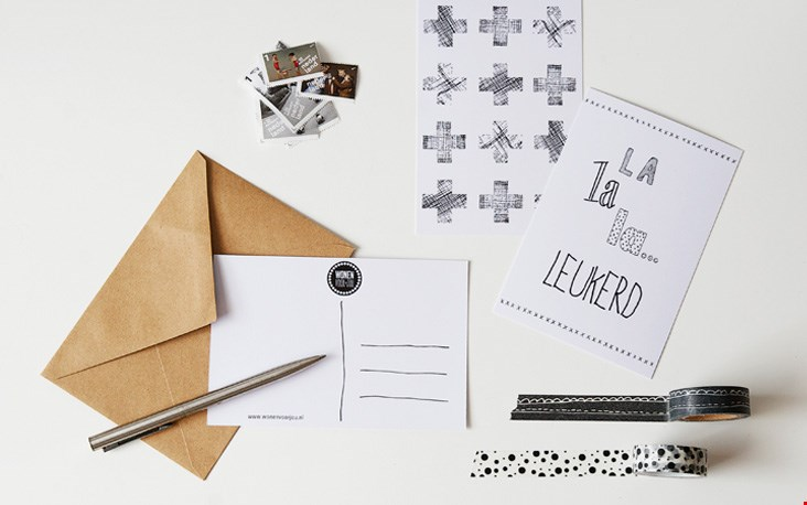 Leuk: stationery!