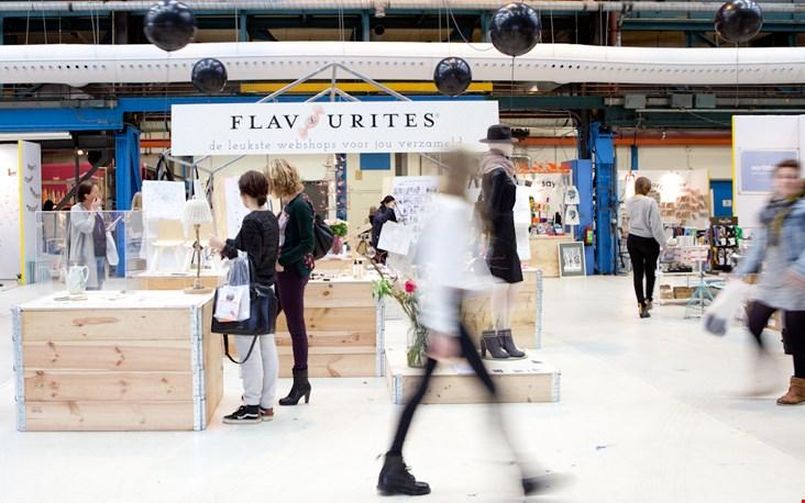 Trots op de Flavourites-tentoonstelling