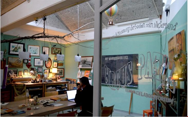 Het atelier van CircusPatz