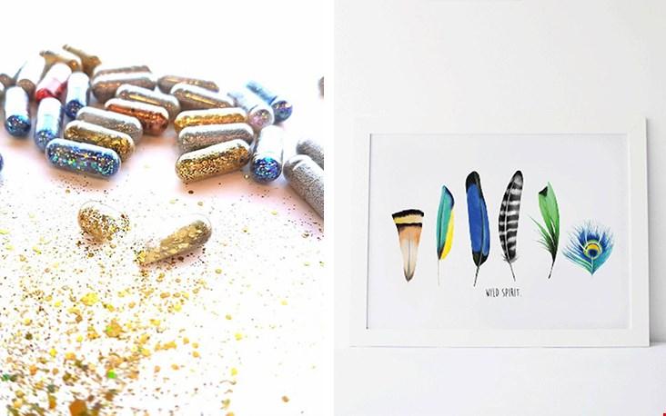 Naast de prachtige sieraden verkoopt ByCaitlin ook posters, stationary en hilarische happy pills