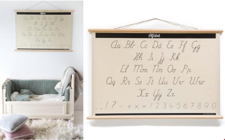 Alfabetposter / schoolplaat