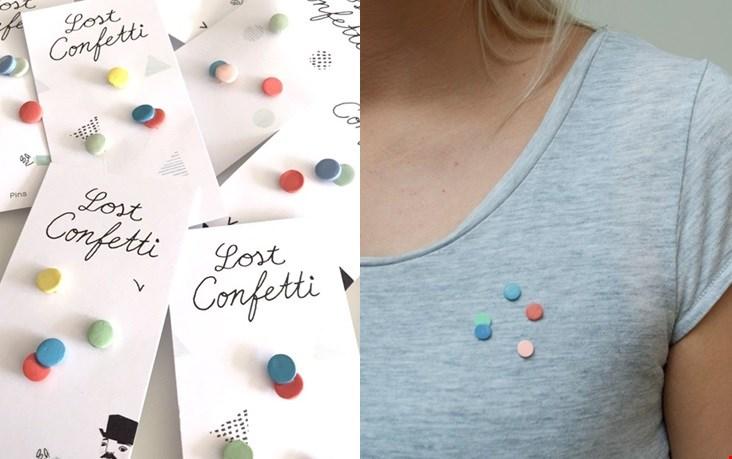Mooi: porseleinen confetti's