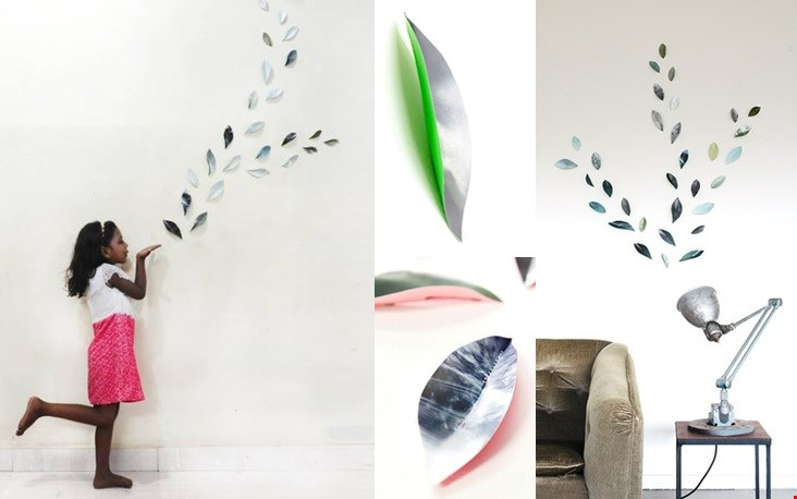De Wallpaper Leaves van Pepe Heykoop