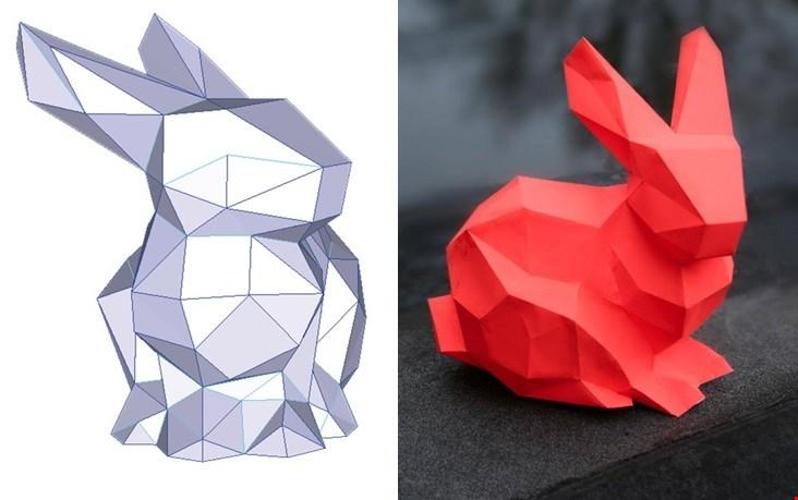 Een erg leuke DIY, deze bunny van Lise Lefebvre