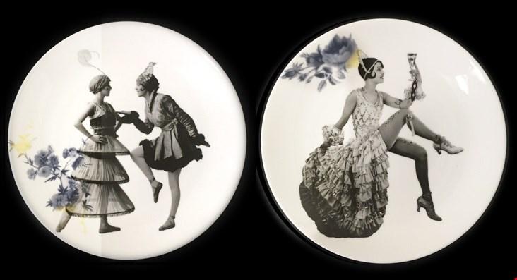 De serie Re-plate van Esther Derkx