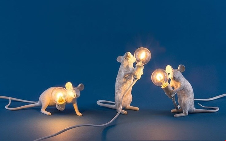 De Mouse lamp
