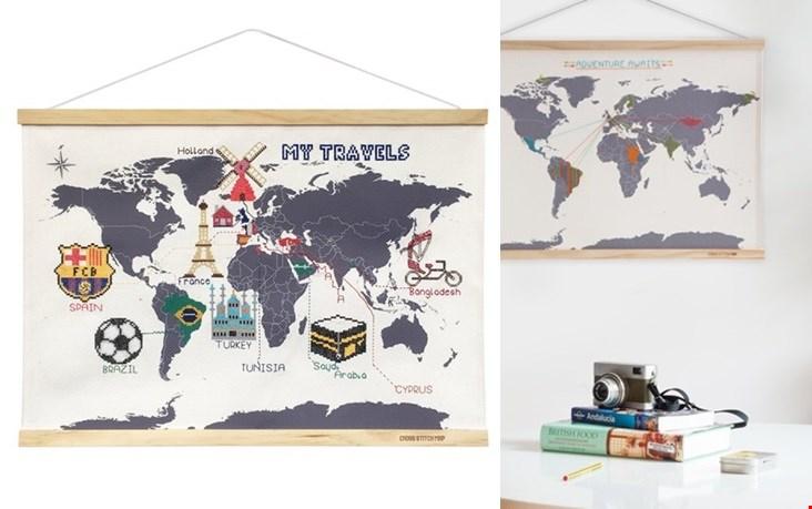 persoonlijke wereldkaart