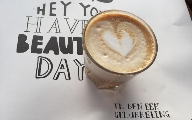 Zalige koffie!