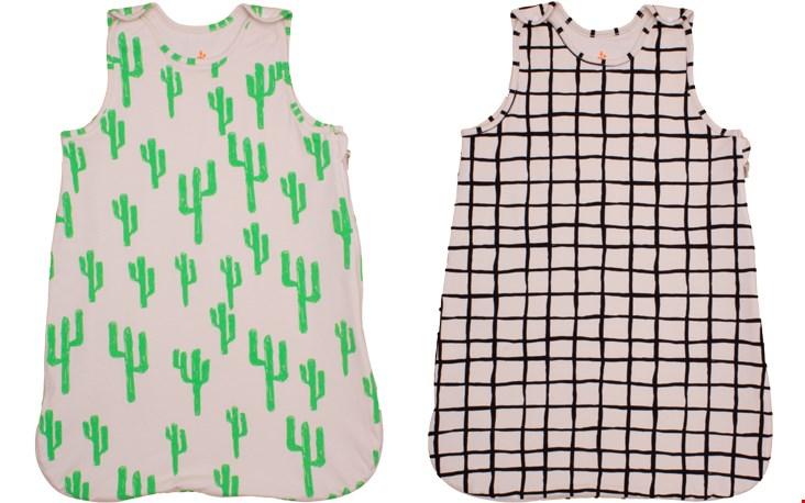 Slaapzak met cactus- en gridprint van Noé & Zoë