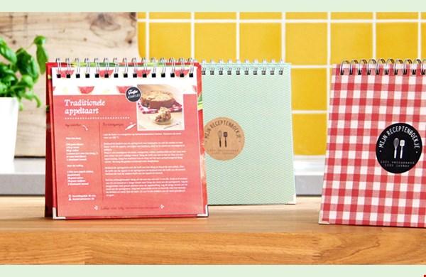 Je eigen receptenboek bestellen