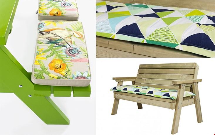 Kussens met leuke prints en frisse kleuren