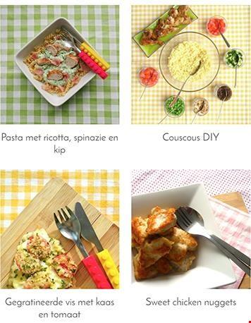 Recepten gezien bij Dekinderkookshop.nl