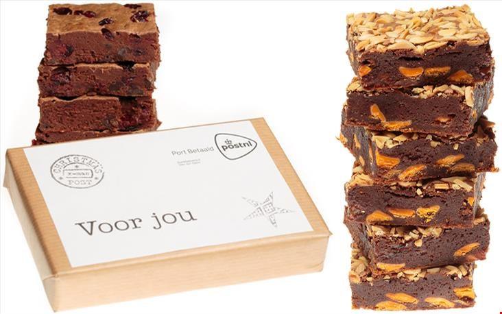 enorm lekkere brownies bestel je bij browniesperpost