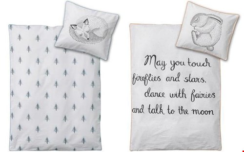 Slapen als een (v)os of konijn met Bloomingville dekbed