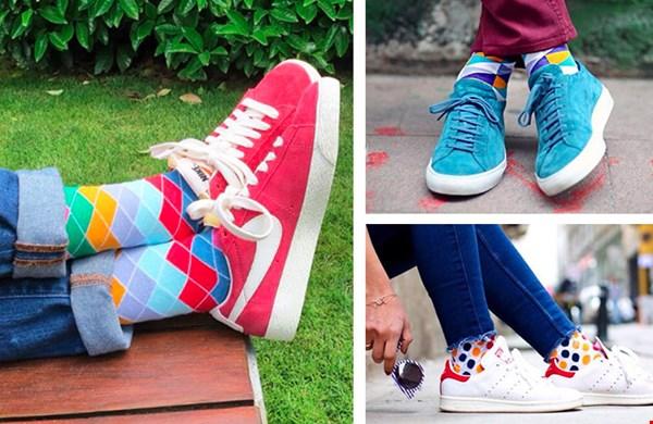 vrolijke sokken op sophiestone.nl