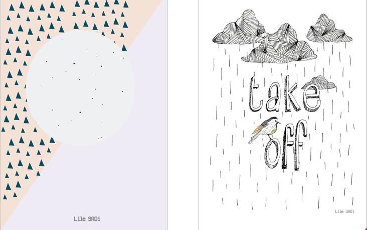 Fijne tip: de posters van Lilesadi.com