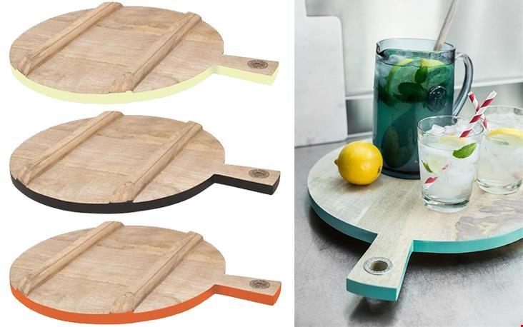 grotere plank met gekleurde rand