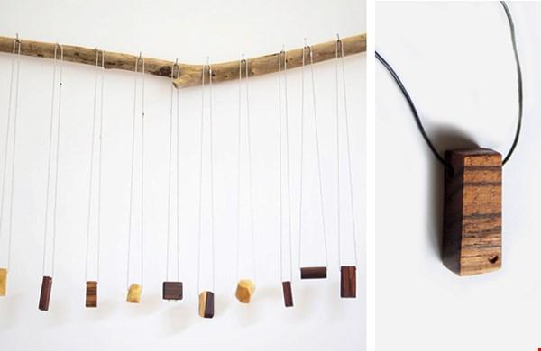 100% handgemaakt; ware kunstwerkjes van hout!