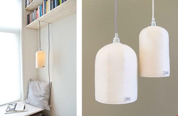 Sinds vandaag te koop: het nieuwe ontwerp van Studiomabelle: de lamp HUP