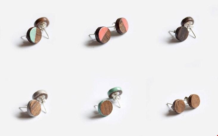 Ik zou er bijna een hapje van willen nemen, zo smakelijk vind ik deze oorbellen er uitzien...