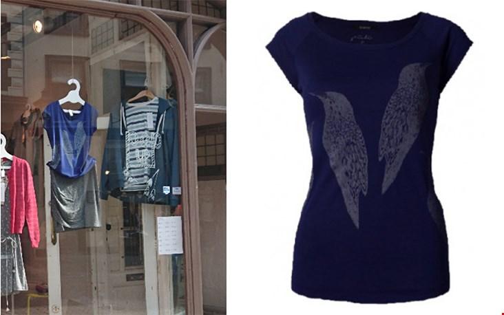 T-shirt Sparrows van Päälä