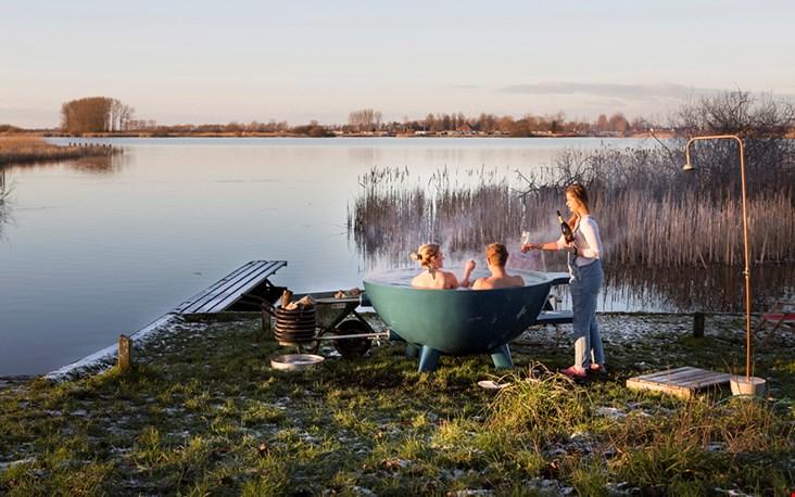 Dit wil je doen toch? Een hot tub arrangement in Friesland bij Picknickers!