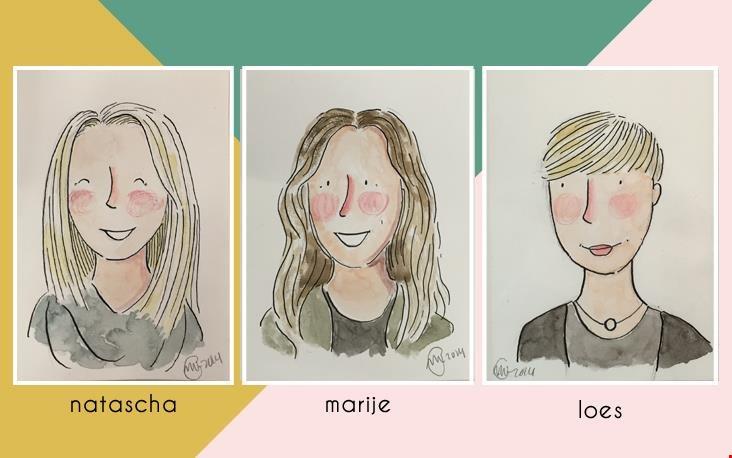 Portretten door Marloes de Vries