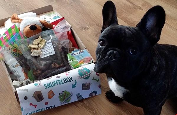 Een verrassingsbox voor je hond en je helpt er dus meteen de andere honden mee, top!
