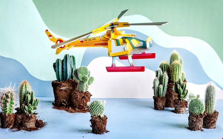 De Play collectie, mooie combi met de echte cactussen!