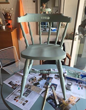 Zo schilder ik een stoel