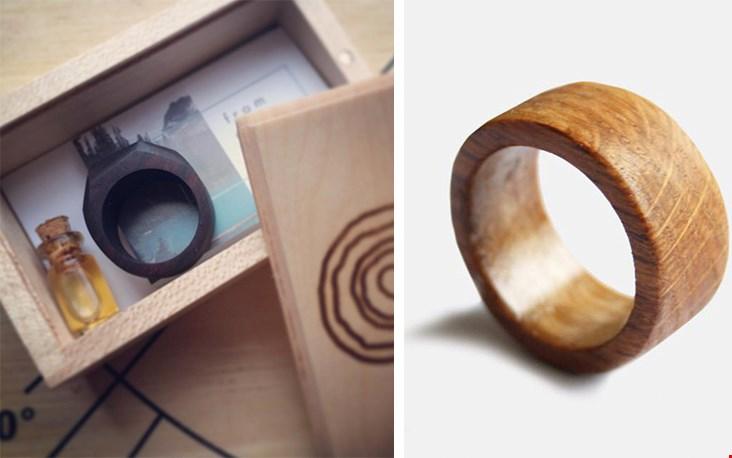 Lili maakt dus mooie producten van hout. En dat ze dit met liefde doet is wel duidelijk als je zo'n mooi verpakt cadeau ontvangt!
