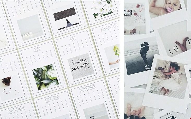 Leuk: maak een kalender! Zie voor meer gave tips Viamartine.com