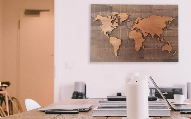 Heb jij iets met een specifiek land of werelddeel? Dan is zo'n woodmap een gaaf en origineel idee toch?